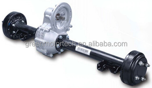 Transmission Rear Axle With Gearbox For Electric Small Car