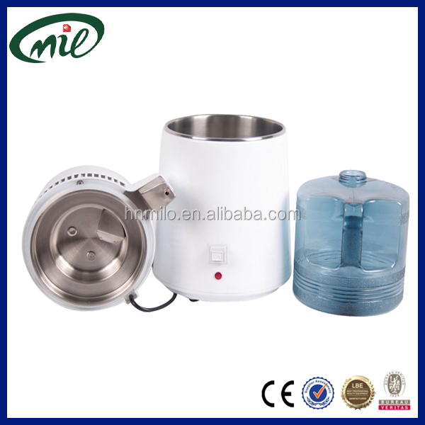 High quality CE approved 1.5L/H distilled water dental laboratory water distiller with stainless steel filter