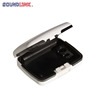 ABS White / Black easy storage Hearing Aid fashion case ODM/OEM