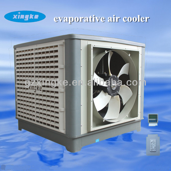 axial fan 18000m3/h airflow industrial evaporative cooling pad/electric energy savers no compressor air conditioner