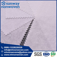 Raw Material Adhensive Nonwoven Fusible Interlining for Home Textile