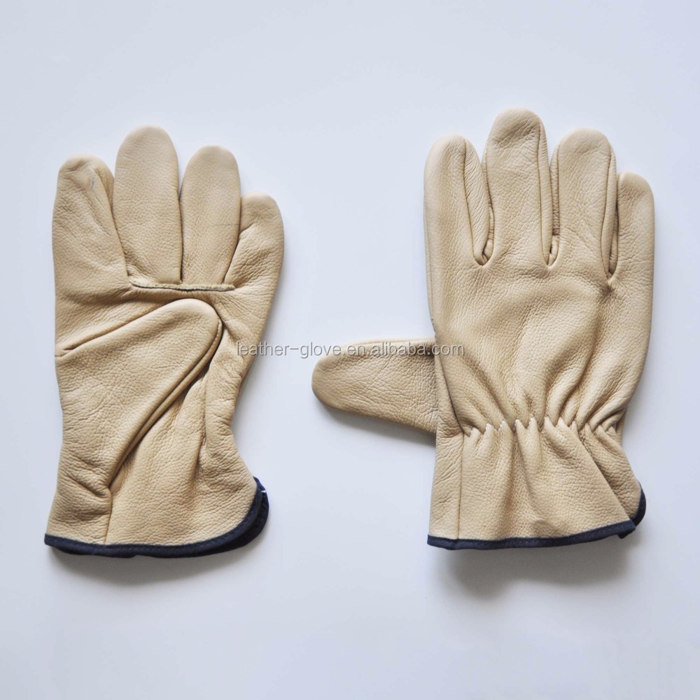 leather welding safety cow split leather work ,working gloves/safety gloves/cow split leather
