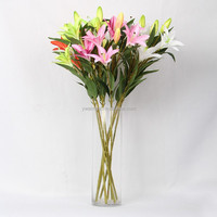 Yiwu Aimee supplies wholesale 6 stems high Simulation calla lily bulbs artificial flowers(AM-JX03)