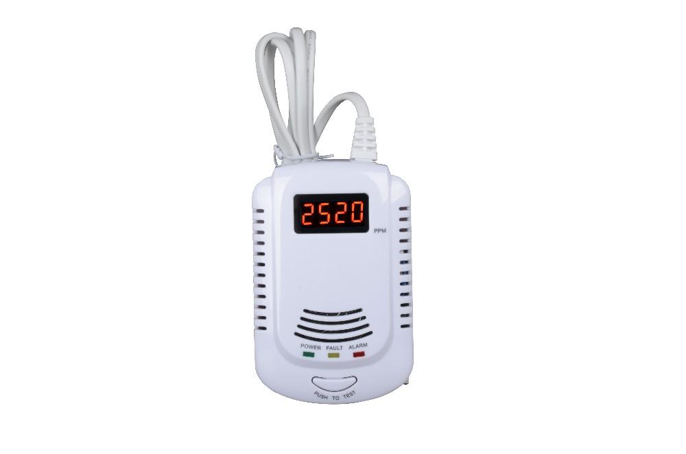 CO Carbon Monoxide Poison Gas Sensor Warning Alarm LCD Detector Tester DE