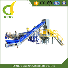Factory directly Flexible connection shredded plastic scrap recycling