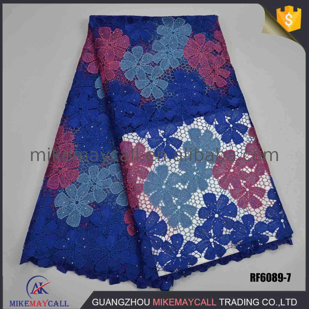 high quality cotton cord lace for christmas guipure fabric 2017 nigeria