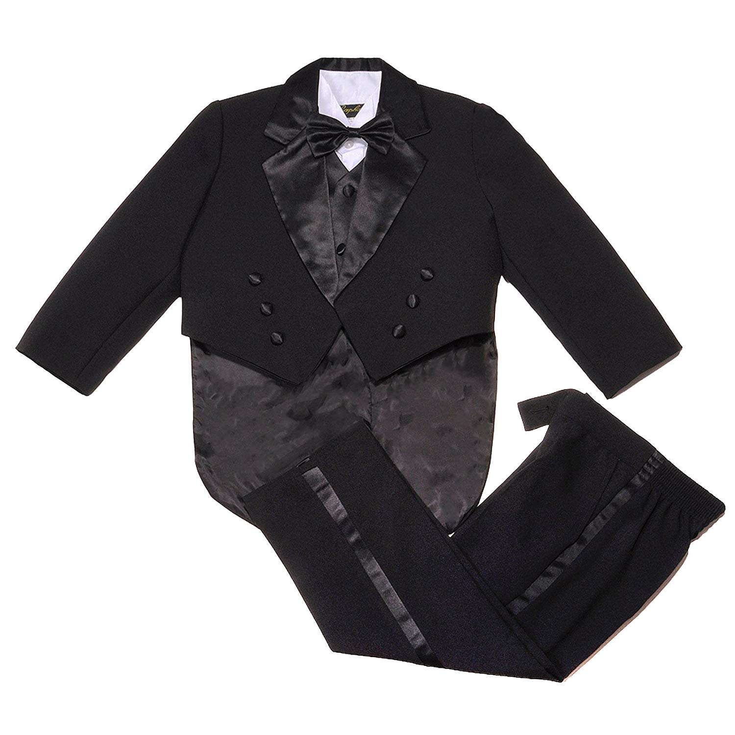 70064d72ae7 Get Quotations · NancyAugust Classic Toddler Boys Formal Tuxedo with Tail  2T-20