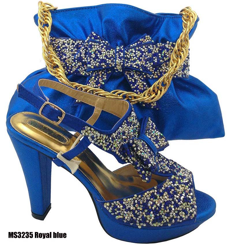 Italian Low Heels Shoes And Bags