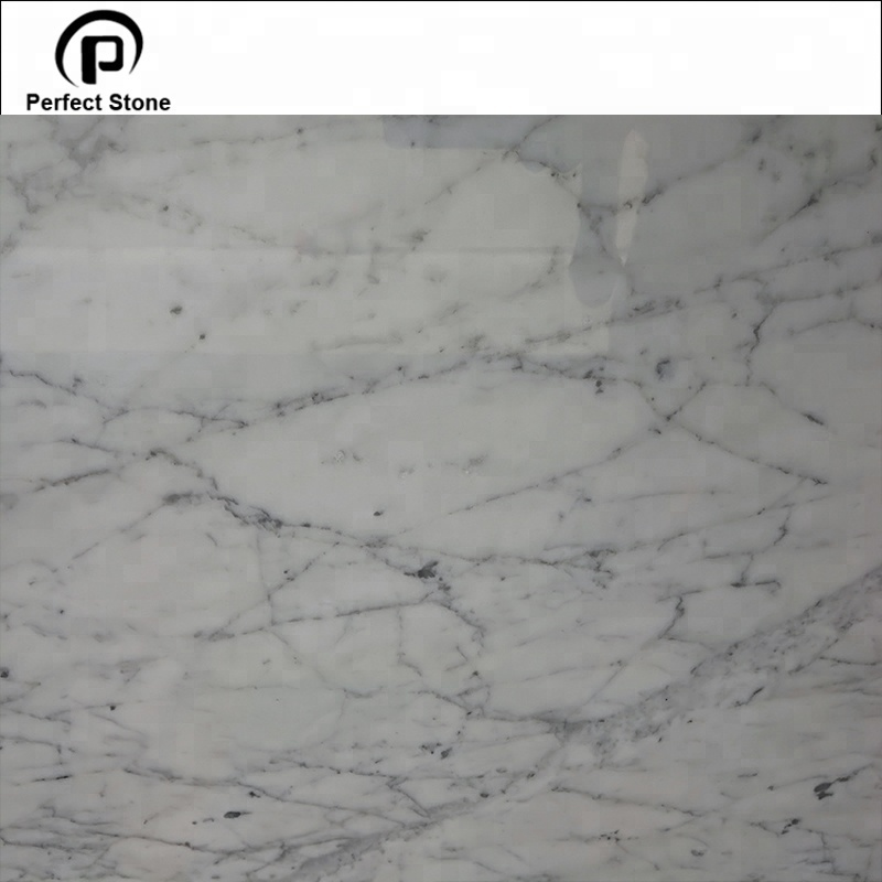 Carrara white marble tile and big slabs with super quality