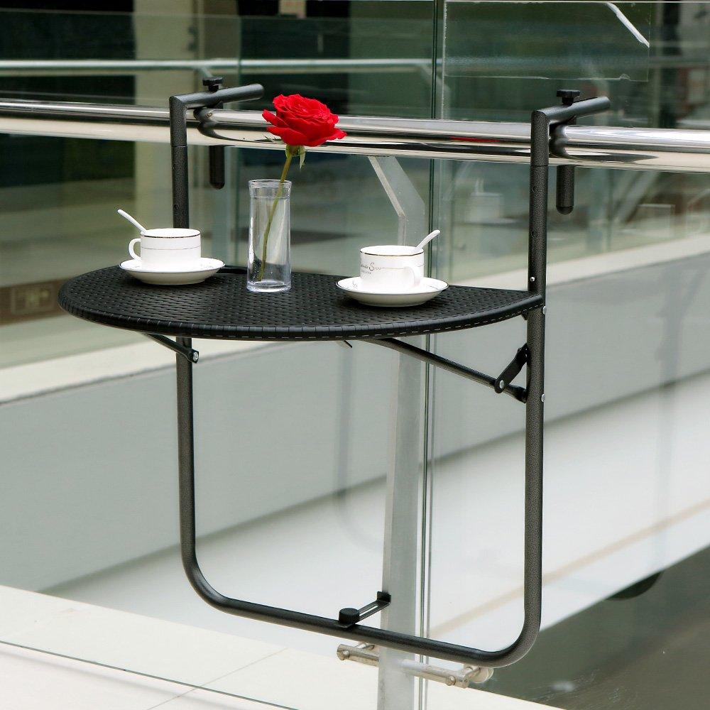 Balcony Deck Table Hanging Patio