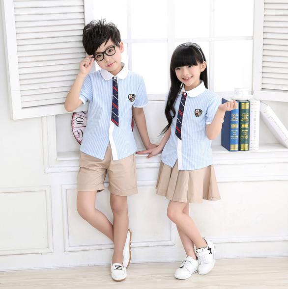 Teen girls in uniform