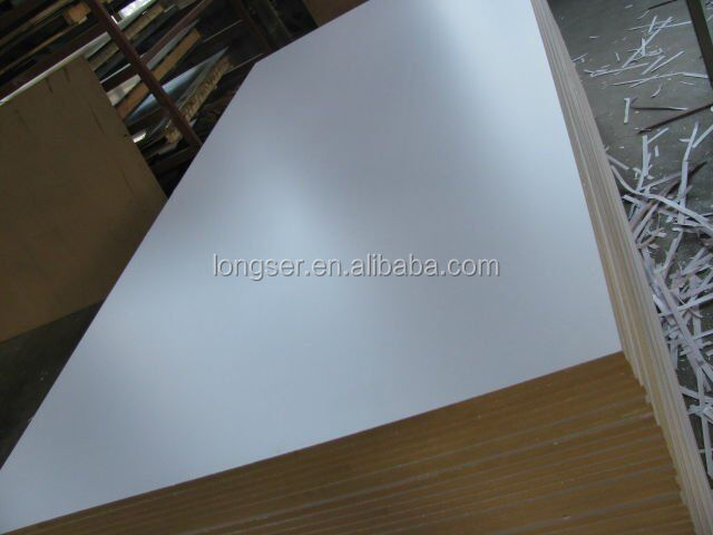 Colored laminate mdf board white melamine