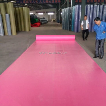 Needle Punch Plastic Cover For Blue Red Green Pink Carpet Buy Pink Carpet Plastic Cover For Carpet Blue Carpet Product On Alibaba Com