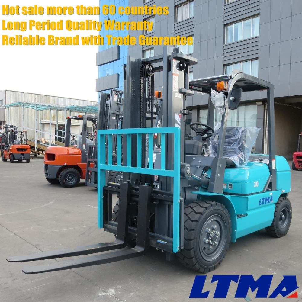 FD30T forklift names 3 ton chinese fork lift truck