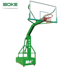 Factory direct supply hot selling acrylic basketball stand glass basketball backboard