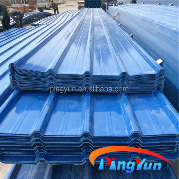 Lovely Pvc Material Plastic Corrugated Roofing Sheet For House Warehouse Shed