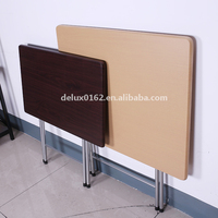 MDF Top Metal frame Folding Table for sale