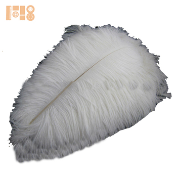 hot sell white ostrich feather