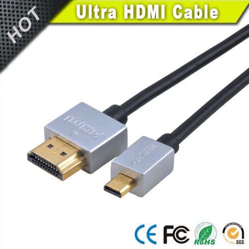Ultra Thin HDMI Cable 10 ft - 36AWG Male to Male High Speed HDMI with Ethernet