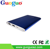 GUOGUO novelty best quality mi power bank, ultra thin aluminium mobile power bank 5000mah for all mobile phones