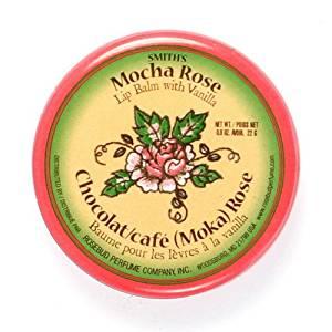 (6 Pack) Rosebud Mocha Rose Lip Balm Tin - Mocha Rose