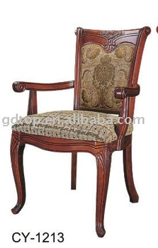 Classic Wooden Hotel Bedroom Chair/armchairs CY 1213
