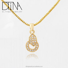 Elegant style of pave diamond pendant in Italy