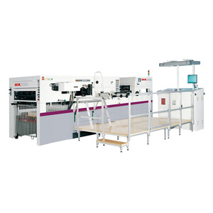 automatic digital large format paper book cover gold foil stamping machine