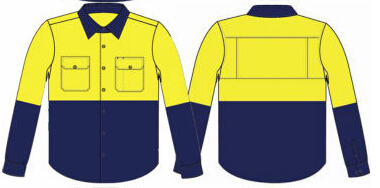 AS/NZS 4602 Day/Night High Visibility 100Cotton Shirts Wholesale