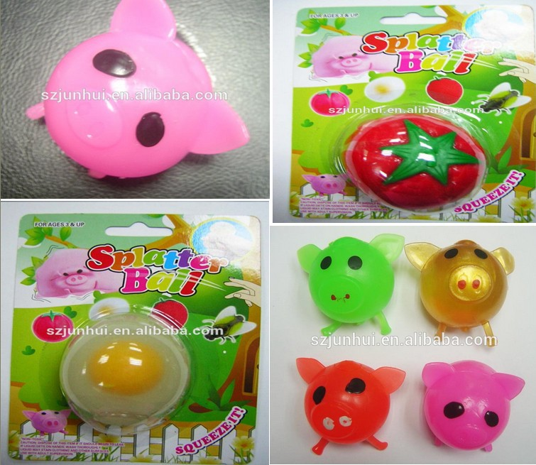 Red Squishy Ball : Splat Red Tomato Soft Rubber Ball - Buy Soft Rubber Ball,Squishy Rubber Ball,Sticky Animal Splat ...