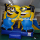 china infltables minion bounce house for sale, cheap inflatable bouncer castle for sale