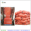 resuable plastic tubular poly net mesh vegetable bag for potato garlic