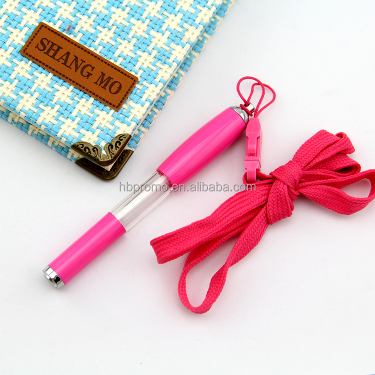 Customized Color and Logo Key Chain Rope Ball Pen