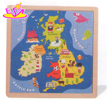Montessori Europe Kids Puzzle Maps,Customized Children Wooden Map ...