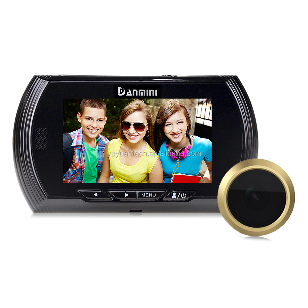 4.3 Audio Video Peephole Door Camera Tft Lcd For Digital Viewer Peepholes Video Recorder Night Vision Motion Detection Eyes With Traditional Methods Back To Search Resultshome Improvement
