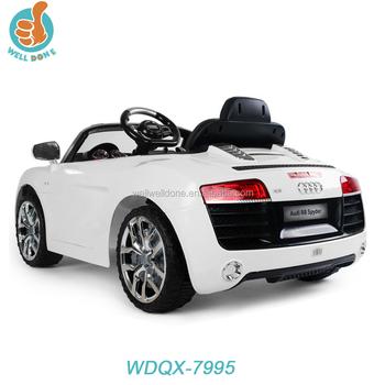 Bébé R8 avec Pas Audi Voiture Buy Télécommande Licence Jouet Product Cher Enfants On S'asseoir Wdqx7995 vOnwym0PN8
