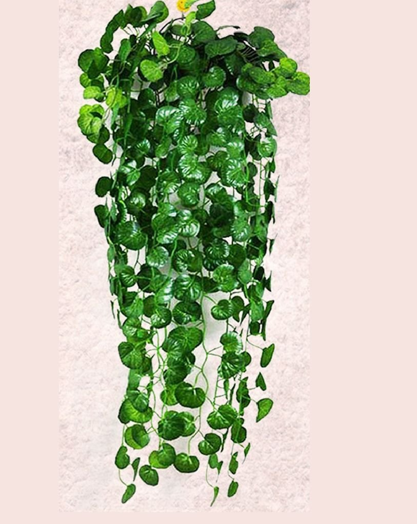 Buy Artificial Flowers Fake Hanging Vine Plant Leaves Garland Home