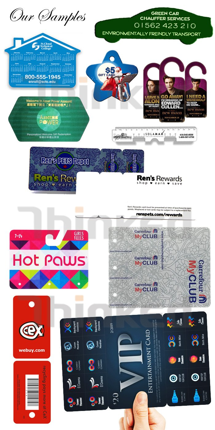 custom ruler straightedge shape plastic die cut pvc irregular nonstandard non standard printed special card