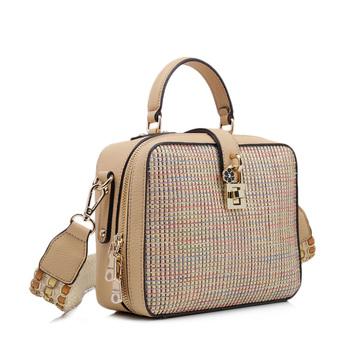 Whole Cross Body Beach Bag French Straw And Rattan Handbag