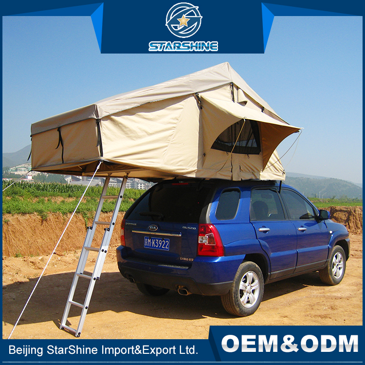 Midge Proof Aluminum Pole Camping Sleeping Tents Travel Outdoor Car Roof Top Tent For Sale