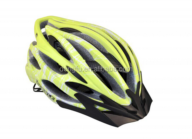 DENGFU new arrival helmet colorful bicycle part for road/MTB helmet available to bleu/yellow/white/red