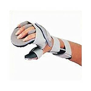 """Resting Hand with Finger Separators with Finger Separators. Size: XLarge, Right, Width of palm: 3 3/4""""-4 1/4"""" (9.5-10.8cm), Length of brace: 14 1/2"""" (36.8cm)"""