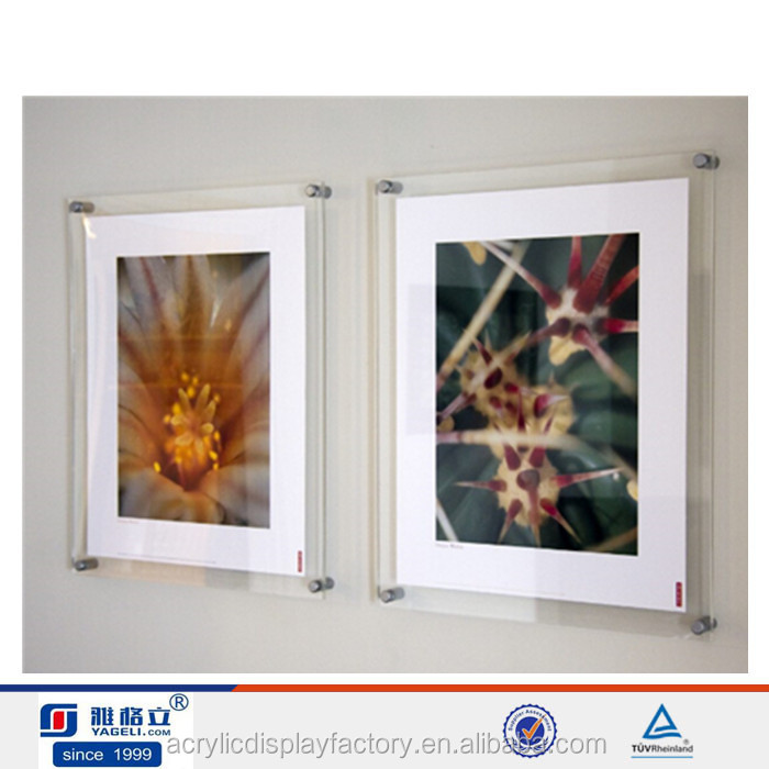 Frameless Clear Acrylic Poster Frames Wholesale, Acrylic Poster ...