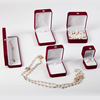 factory direct manufacture luxury high quality end velvet jewelry set box