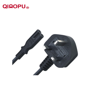 Qiaopu Home Appliance D09 Qt3 Uk Type Bsi 3 Pin Power Cord Cable