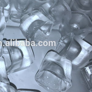 Ice cube maker machine with water spray system 32mm ice cube