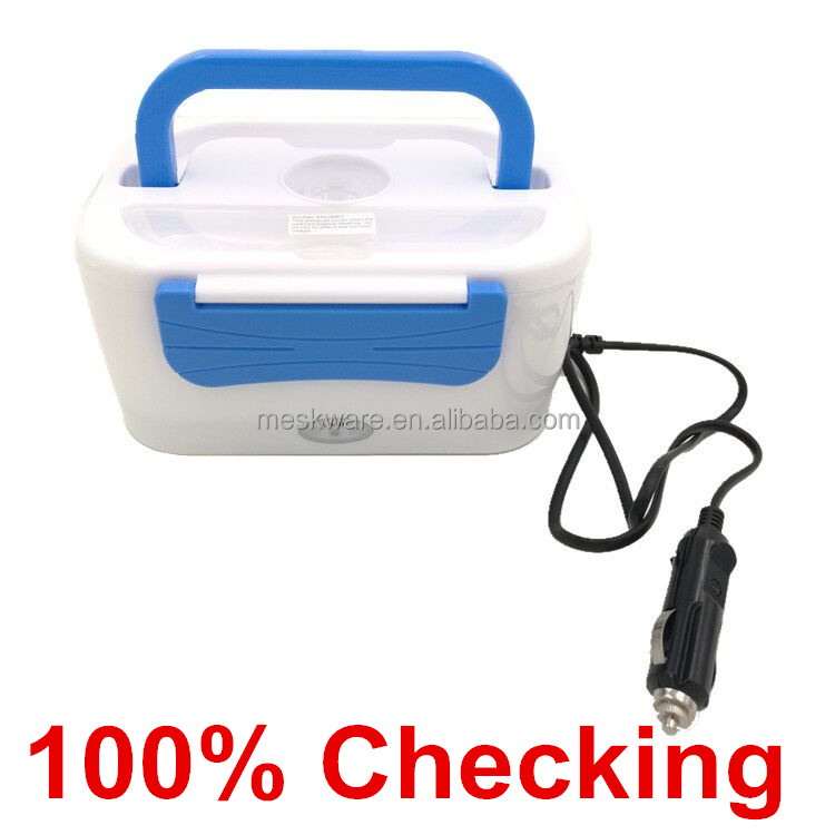 Factory supply 12v car heated lunch box, electronic lunch box