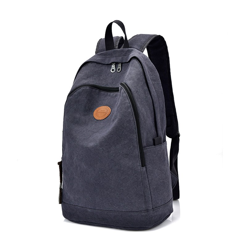 Free Shipping Fashionable Laptop Bag Custom Logo Canvas <strong>Backpack</strong>