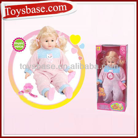 20 inch musical baby doll top patterns