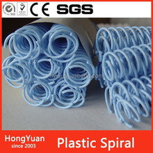 Rubber & Plastics plastic binding coil plastic spiral wire binding , plastic binder clip , clear plastic binder clip